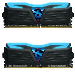 16GB GeIL Super Luce blau DDR4-3000 DIMM CL15 Dual Kit