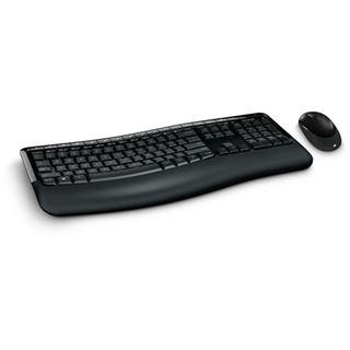 Microsoft Wireless Comfort Desktop 5050 Deutsch 2.4 GHz schwarz