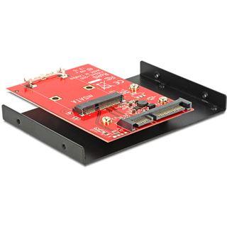 """Delock Konverter SATA 22 Pin mSATA mit 3.5"""" Rahmen"""