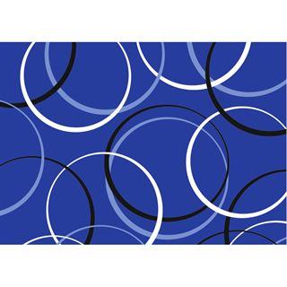 """Susy Card Geschenkpapier """"Circles blue"""", auf Rolle"""