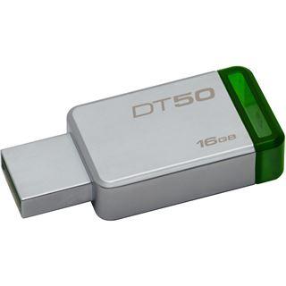 16 GB Kingston DataTraveler 50 grau USB 3.0
