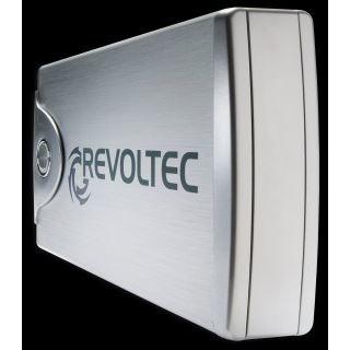 """3,5"""" (8,89cm) Revoltec File Protector External Enclosure SATA -> USB Aluminium"""