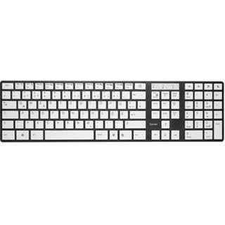Saitek PC Slim Tastatur Schwarz Deutsch USB