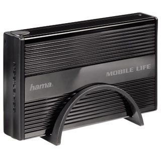 "3.5""(8,89cm) Hama Externes Gehäuse Mobile Life SATA USB 2.0 Schwarz"