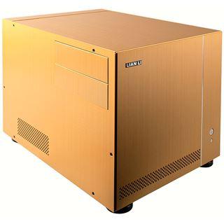 µATX Lian Li Media PC-V351G Cube HTPC Gold