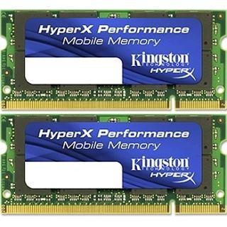 4GB Kingston HyperX DDR3-1600 SO-DIMM CL7 Dual Kit
