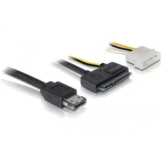 """Delock eSATAp auf SATA Adapter für 2.5"""" und 3.5"""" Festplatten (84411)"""