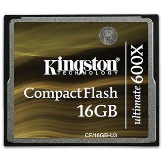 16 GB Kingston Ultimate Compact Flash TypI 600x Retail