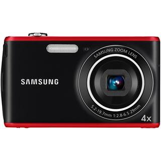 Samsung PL90, DigiCAM 12.2 MP schwarz/rot