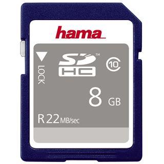 8 GB Hama High Speed Gold SDHC Class 10 Bulk
