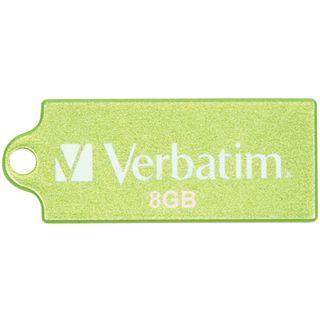 8 GB Verbatim Store `n` Go Micro gruen USB 2.0