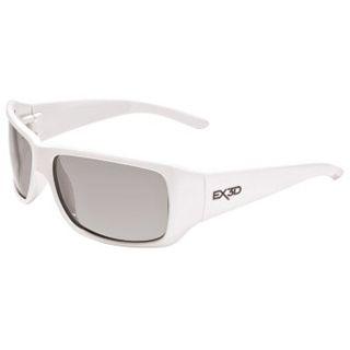 Hama EX3D Polfilterbrille, 5002 sportlich, Weiß
