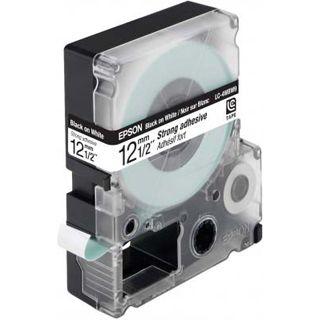 Epson LC-4WBW9 schwarz auf weiß Etikettenkassette (1 Rolle (1.2 cm x 9 m))