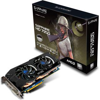 3GB Sapphire Radeon HD 7950 OC Aktiv PCIe 3.0 x16 (Retail)