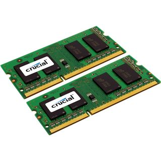 4GB Crucial Value DDR3-1333 SO-DIMM CL9 Dual Kit