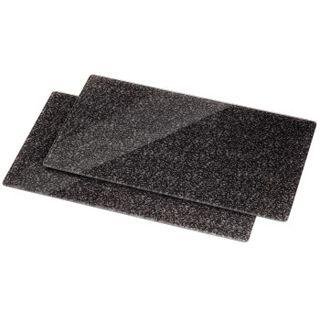 Xavax Multi-Glasschneideplatte, 2er-Pack, Design Granit