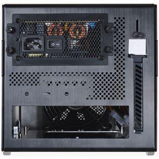 Lian Li PC-Q15B Mini Tower 300 Watt schwarz