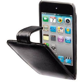 Hama MP3-Fenstertasche Flip Case für iPod touch 4G, Schwarz