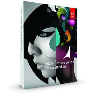 Adobe Creative Suite 6.0 Design Standard Deutsch nur Datenträger PC (DVD)