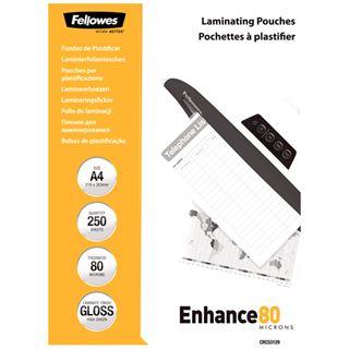 Fellowes GmbH 5312903 Laminierfolie (250 Stück)