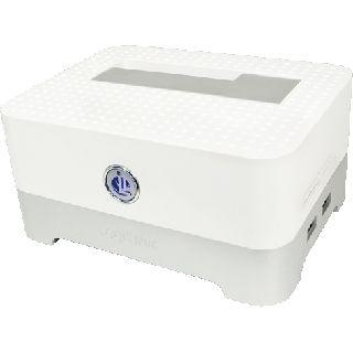 """LogiLink Quickport USB 2.0 inkl. HUB und Cardreader Dockingstation für 2.5"""" und 3.5"""" Festplatten (QP0012)"""