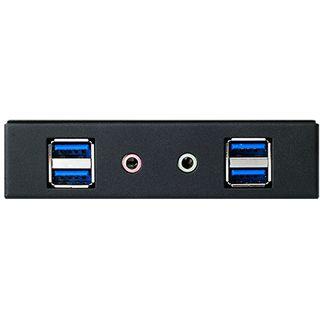 "Silverstone 4x USB 3.0/Audio Front Panel für 3,5"" (SST-FP32B-E)"