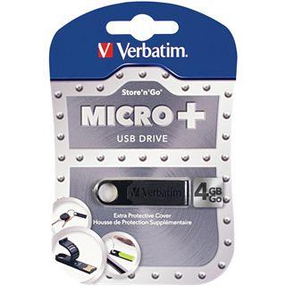 4 GB Verbatim Micro schwarz USB 2.0