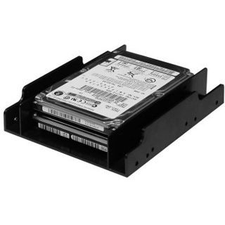 """Good Connections 3,5"""" auf 2x 2,5"""" Einbaurahmen für 2,5"""" Festplatten (SE-HDD-S02/SN-EBR33)"""