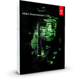 Adobe Dreamweaver CS6 Deutsch nur Datenträger PC (DVD)