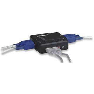 Intellinet 151252 2-fach Desktop KVM-Switch