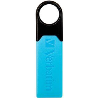 8 GB Verbatim Micro+ USB Drive blau USB 2.0
