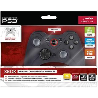 Speedlink XEOX Pro Wireless USB schwarz PC/PS3
