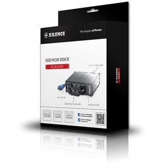 """Xilence SSD-Gehäuse für 5,25"""" Schacht, schwarz"""