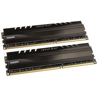 8GB Avexir Core Series blaue LED DDR3-2666 DIMM CL11 Dual Kit