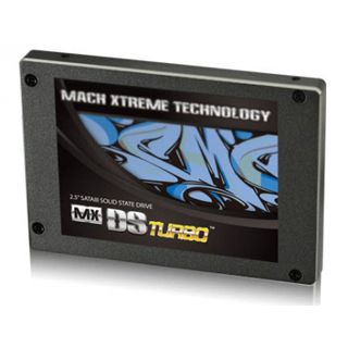 "60GB Mach Xtreme Technology MX-DS Turbo Premium 2.5"" (6.4cm) SATA 3Gb/s MLC asynchron (MXSSD3MDSTP-60G)"