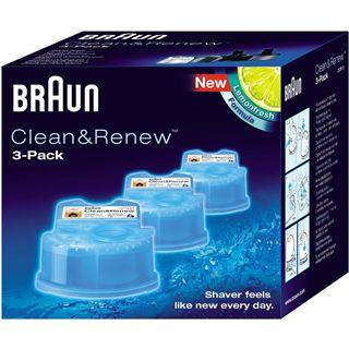 Braun Clean & Renew (3er-Pack) CCR 3 Reinigungskartusche