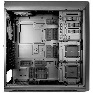 NZXT Switch 810 mit Sichtfenster Big Tower ohne Netzteil Gunmetal