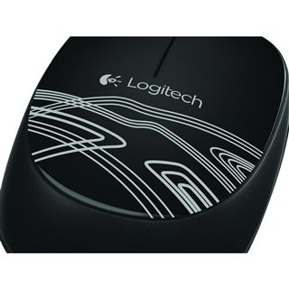 Logitech M105 USB schwarz (kabelgebunden)