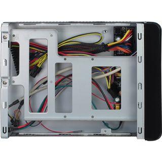 Inter-Tech E-1001 ITX Tower 60 Watt schwarz
