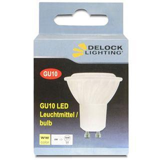 Delock Lighting 4x Highpower LED dimmbar Warmweiß GU10 A