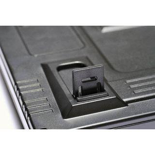 QPad MK-50 Pro Gaming Keyboard CHERRY MX Black PS/2 & USB Deutsch schwarz (kabelgebunden)