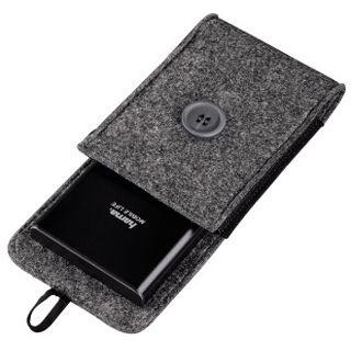 """Hama Felt Grau Tasche für 2,5"""" Festplatten (00095543)"""