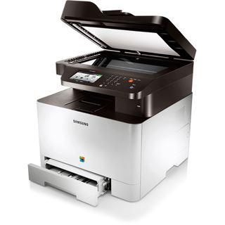 Samsung CLX-4195FN/TEG Farblaser Drucken/Scannen/Kopieren/Faxen LAN/USB 2.0
