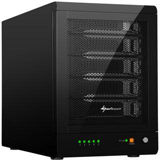 "Sharkoon 5-Bay RAID-Station 3.5"" (8,89cm) eSATA/USB 3.0 schwarz"