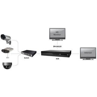 Digitus WCam Network Zub DN-16110 Netzwerk-Videorecorder