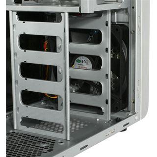 Cooltek K2 Rev. C Midi Tower ohne Netzteil weiss/schwarz