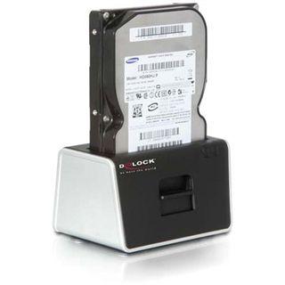 """Delock SATA HDD auf USB 3.0/eSATA Dockingstation für 2.5"""" und 3.5"""" Festplatten (61965)"""