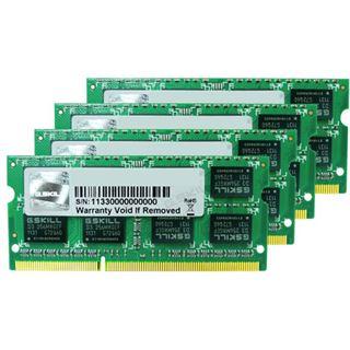 32GB G.Skill Mac Memory DDR3-1333 SO-DIMM CL9 Quad Kit