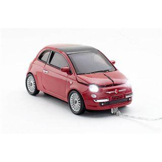 sunny Trade Car-Mouse Fiat 500 USB rot (kabelgebunden)