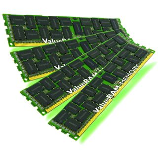 8GB Kingston ValueRAM DDR3L-1333R DIMM CL9 Quad Kit